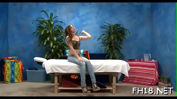 Teen massage, Small girl