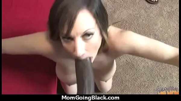 Mom black cock, Big mom