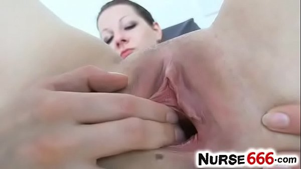 Open pussy, Medical, Close up