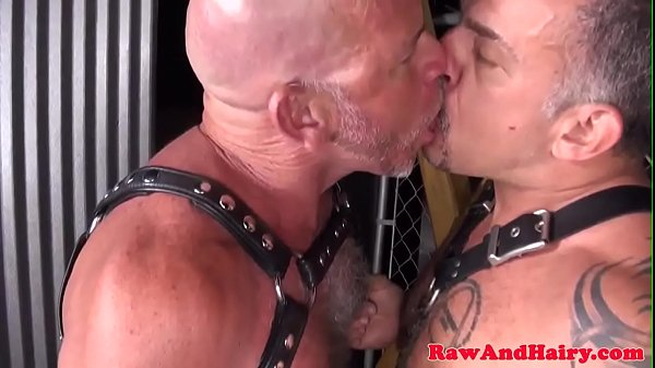 Cum kissing, Leather, Fetish