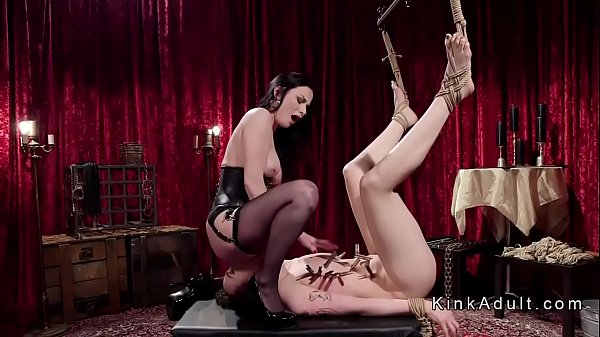 Slave, Pain anal, Tie