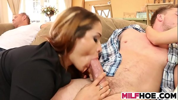 Threesome, Mommy, Stepson, Mum, Mother fuck, Threesome mom