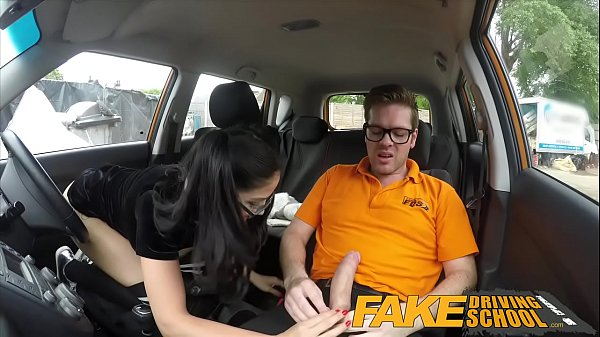 Funny, Fake driving school, Spain, Sex in school, Sex car