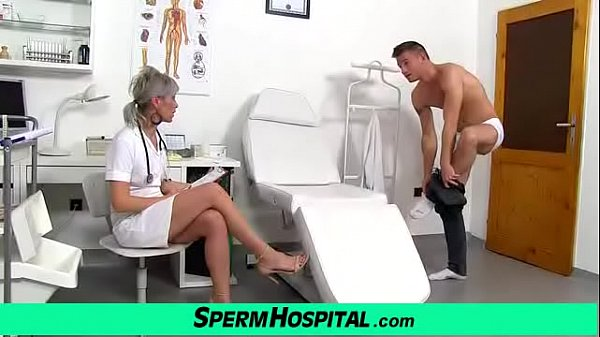 Granny, Nurse, Hospital, Mom boy, Lady boy, Granny handjob
