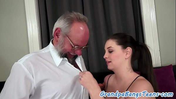 Oldman, Young creampie