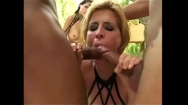 Orgy, Double cock, Challenge, Big tits big ass