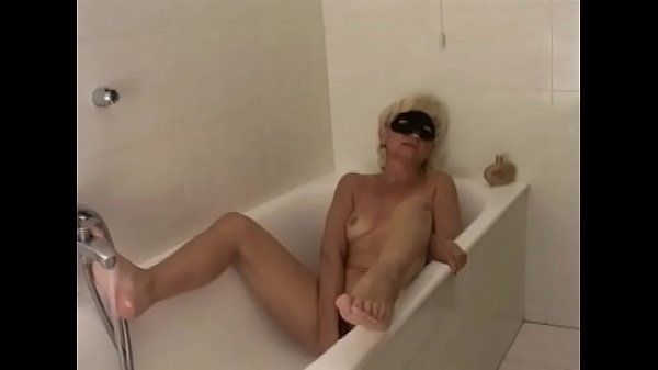 Shower, Mature anal, Hairy blond, Blonde hairy