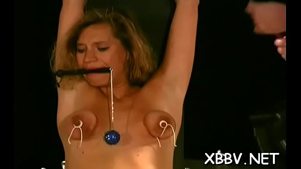 Torture, Tits torture, Porn video, Breast torture