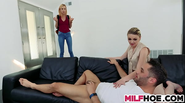 Mom, Young mother, Threesome mom