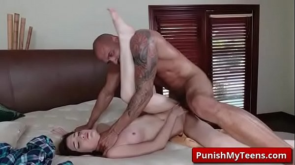 Bondage, Tube, Punishment, Nina, Teen spanking, Teen spank