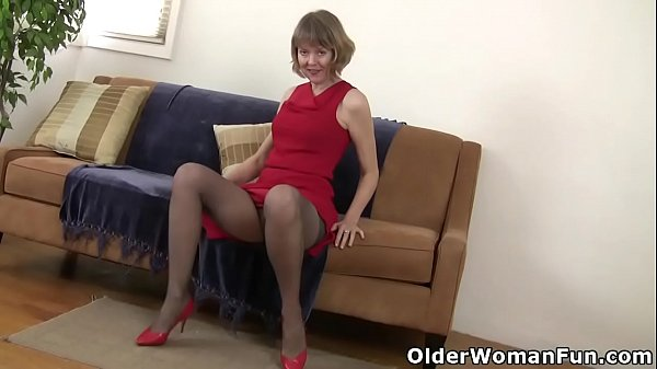 Mom, Pantyhose, Nylon