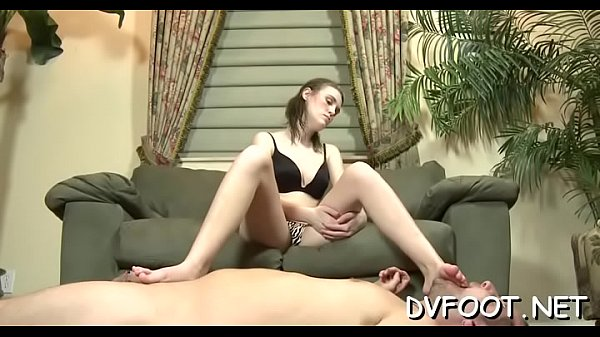 Foot, Couple, Beautiful sex, Hot girl