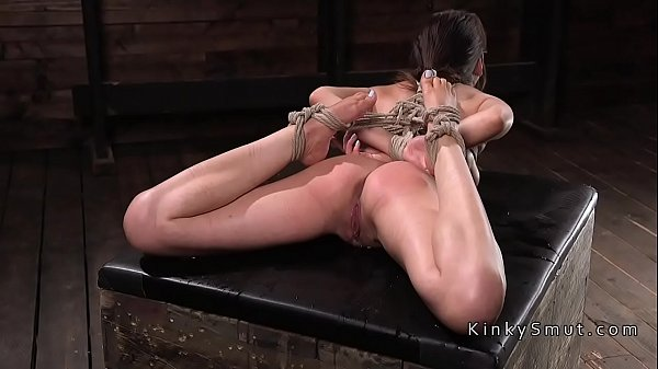 Slave, Rope, Roped, Hogtied, Bdsm squirt