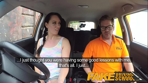 Funny, Fake driving school, Sex in school, Sex in car, Porn school