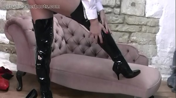 Boots, Nylon, Panties, Mum, Leather, Skirt