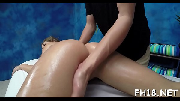 Real massage, Oiled, Horny massage