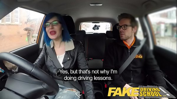 Car, Fake driving school, Sex school, Sex in school, Sex in car, Sex car