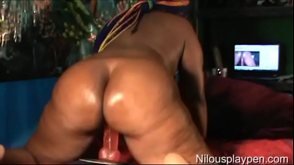 Fingering, Anal dildo riding