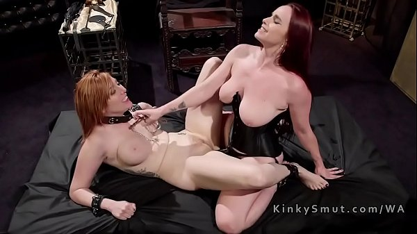 Whip, Tied, Pain anal, Lesbian slave