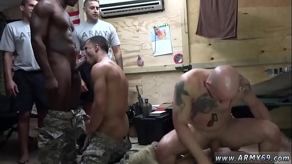 Foursome, Bodybuilder, The first time, Military, Came, Bodybuilding