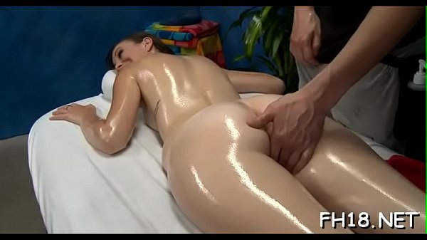 Oil, Teen massage, Boobs massage