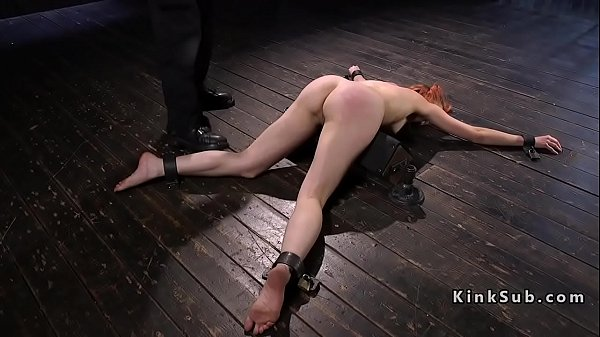 Caning, Hairy pussy, Whipping, Caned